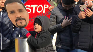 H14 connecticut protest
