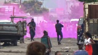H9 congo soldiers kill protestors