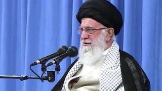 H1 iran khemenei us saudi arabia drone oil attack