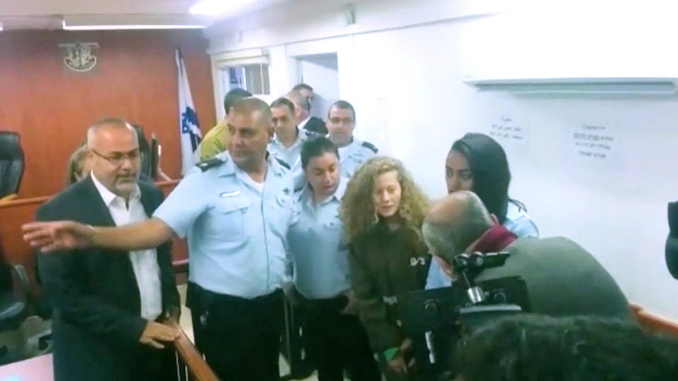 H10 tamimi family arrested by idf