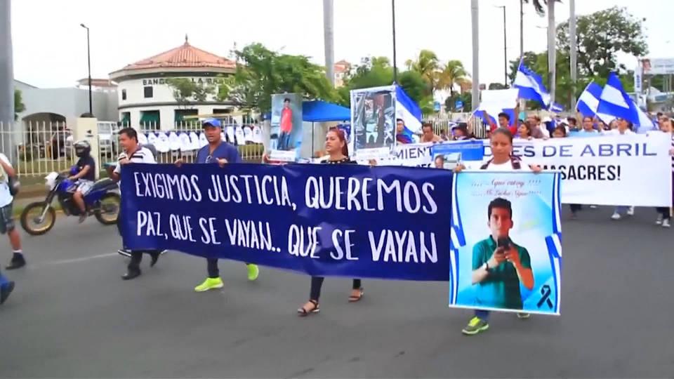 H9 nicaragua protests