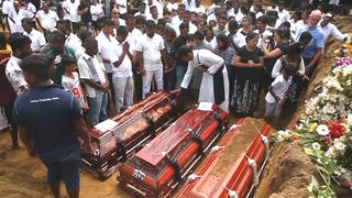 H4 sri lanka death toll aftermath easter bombings funerals burials