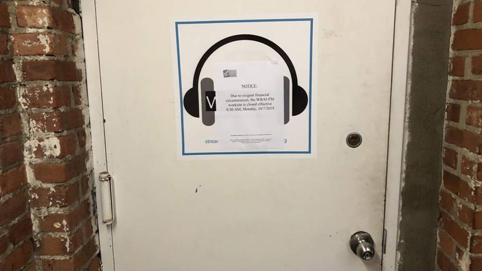 H14 wbai closes doors lays off staff before injunction