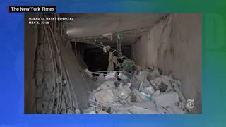 H3 new york times russia warplanes bomb hospitals syria