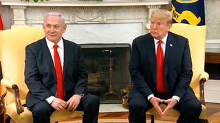 H4 trump invites israeli leaders white house peace plan unveiling