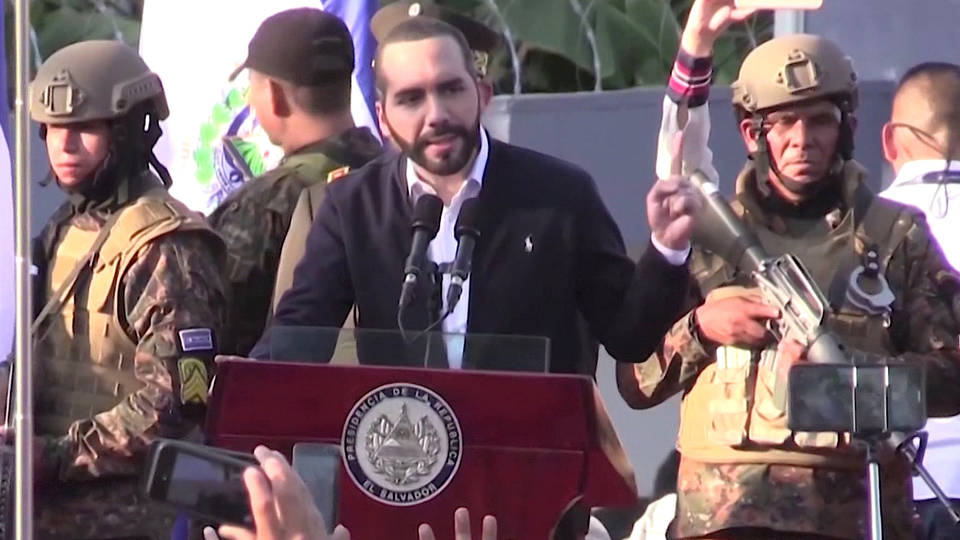 H6 el salvador president bukele military funding coup attempt