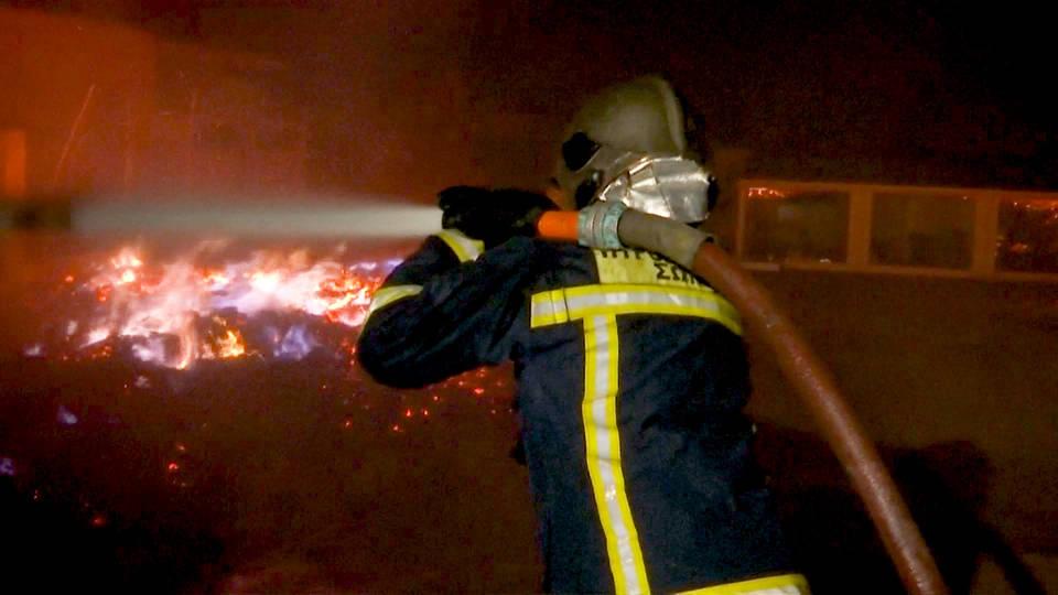H6 greece fires