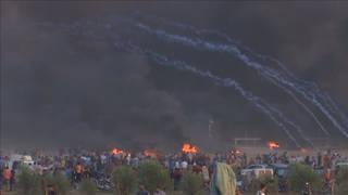 H8 gaza protests