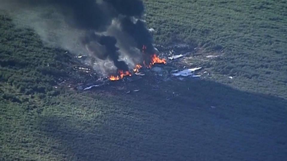 H09 military plane crash