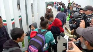 H4 migrant caravan us border