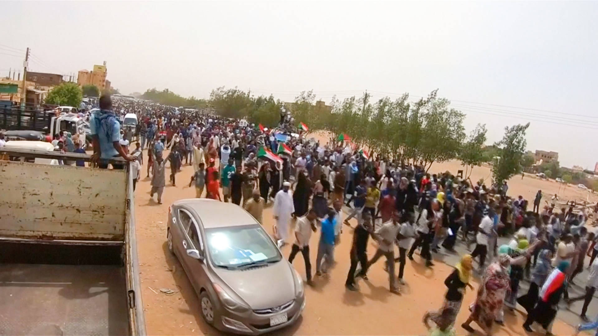 At Least 10 Killed in Sudanese Anti-Gov't Protests