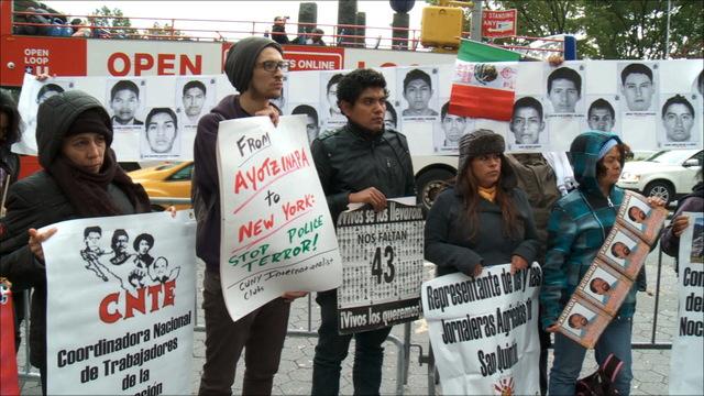 H09 caravana ayotzinapa