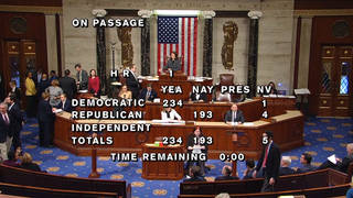H5 house passes reform act