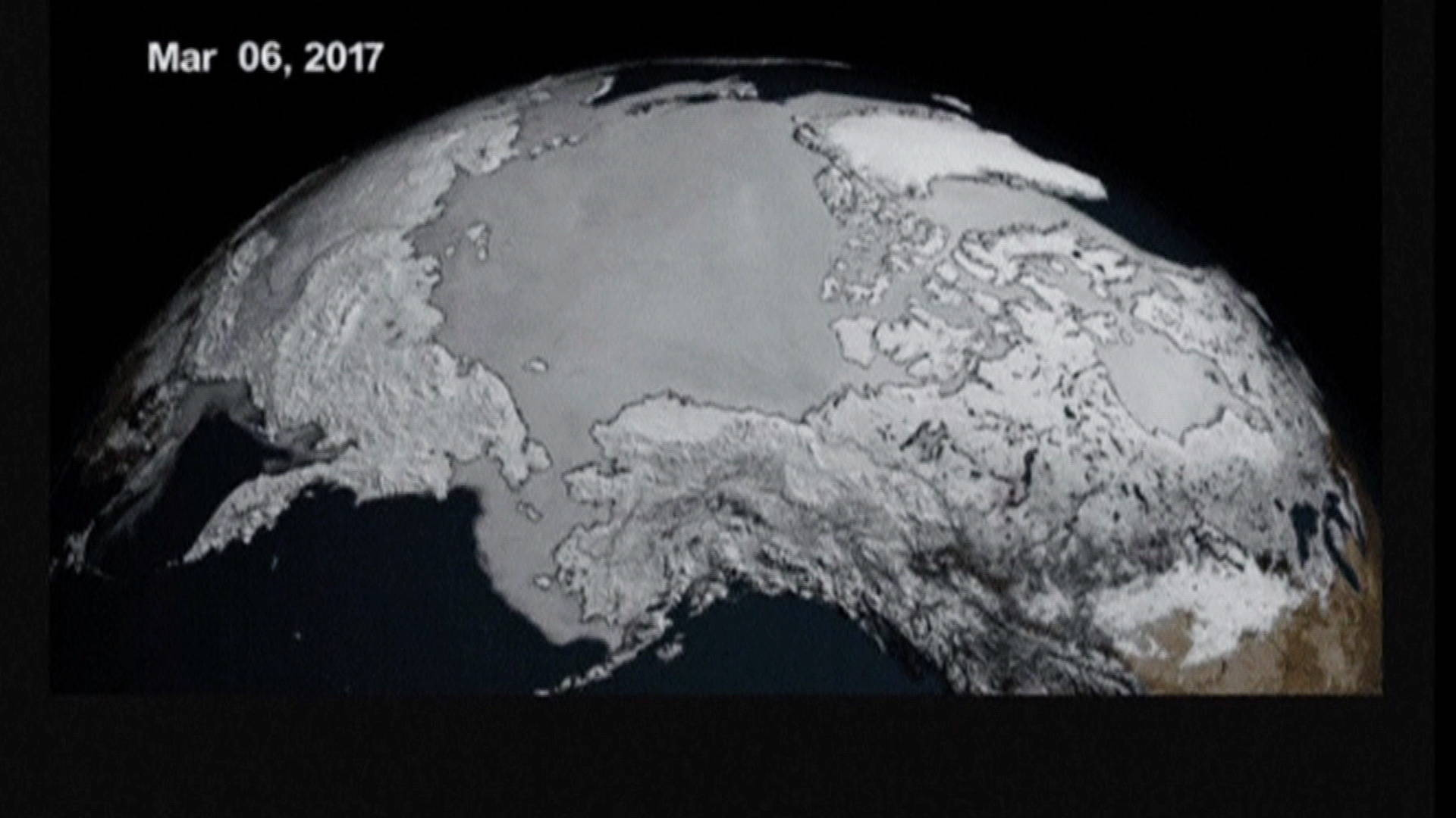 Scientists Report New Record Low for Sea Ice in Winter