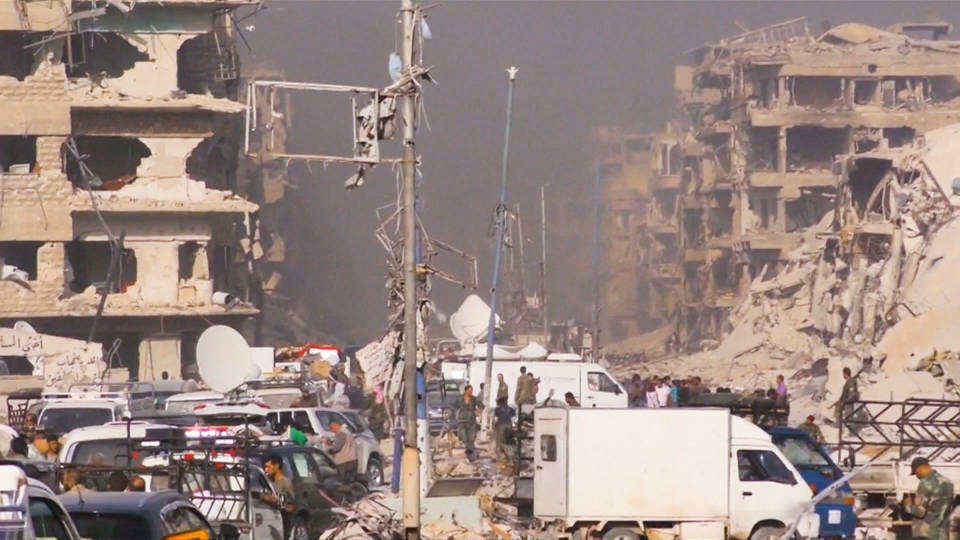 H8 syria government retake refugee camp from isis