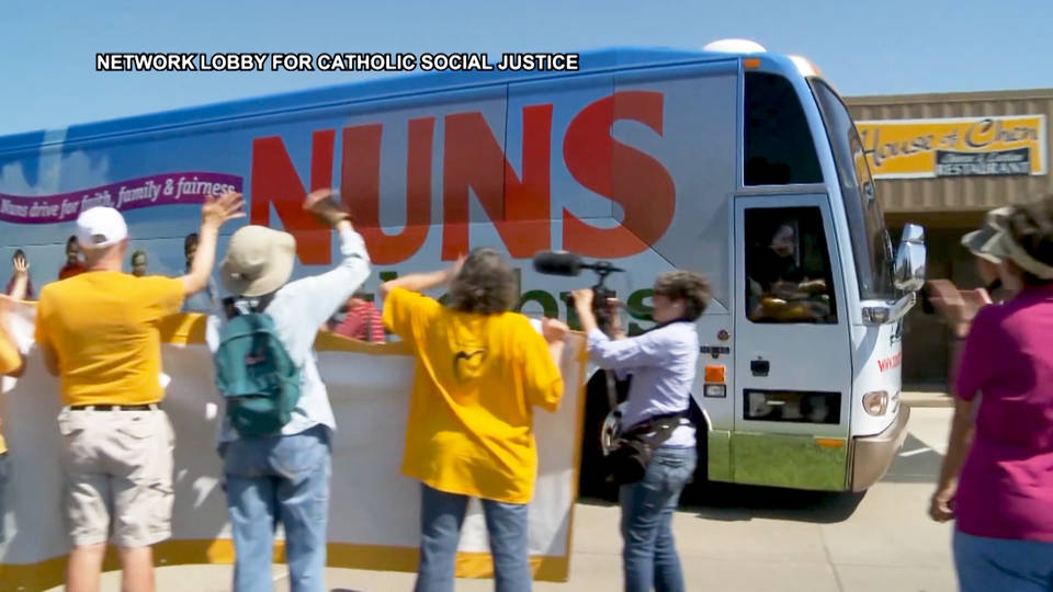 H14 nuns on the bus