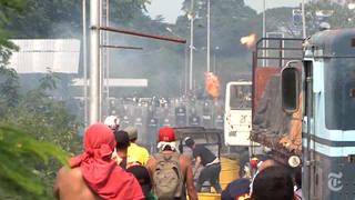 H6 nyt venezuela aid destroyed