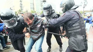 H3 russia moscow pro democracy protests arrests city council election
