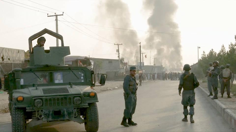 Kabul Bomb Attack Kills At Least 16 as U S  Announces Draft
