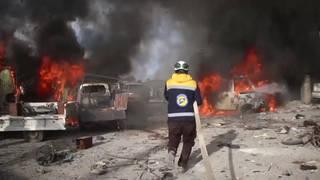 H7 syria idlib russia airstrikes deaths ceasefire