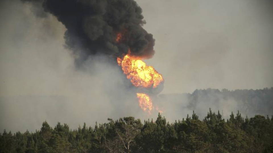 H09 pipeline explosion