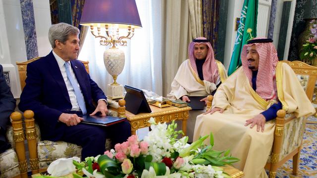 Kerry visit saudi arabia