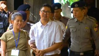H10 wa lone reuters burma myanmar press trial