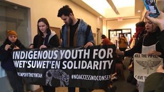 H11 anti pipeline protestors arrested canada transportation wetsuweten transcanada gaslink