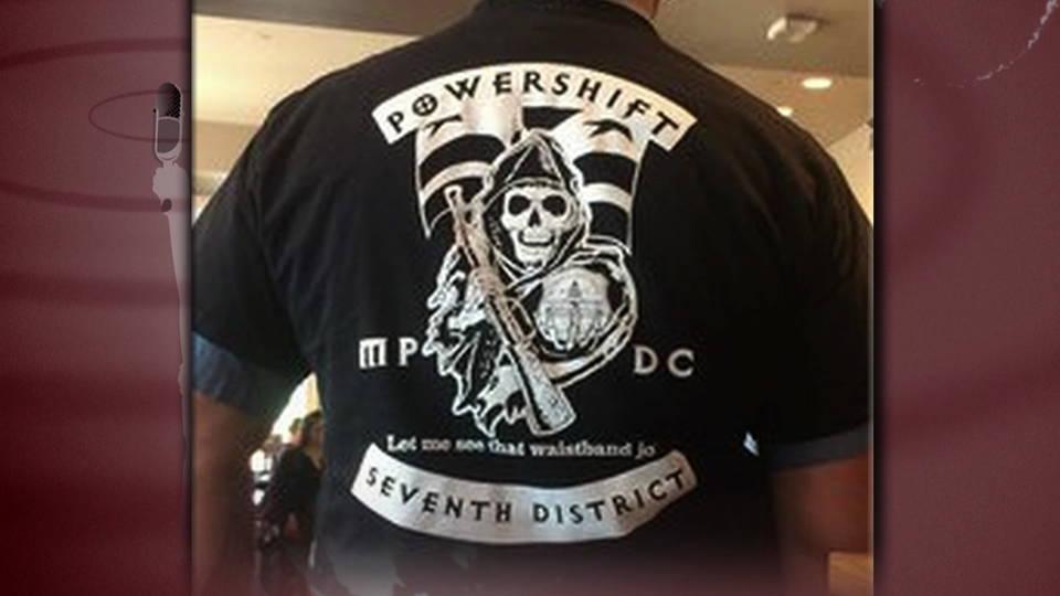 H16 dc officer shirt