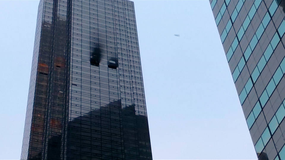 H18 fire death trump tower