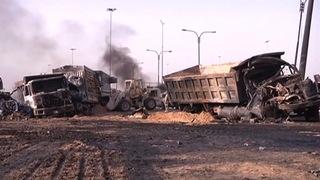 H10 suicide truck bomb