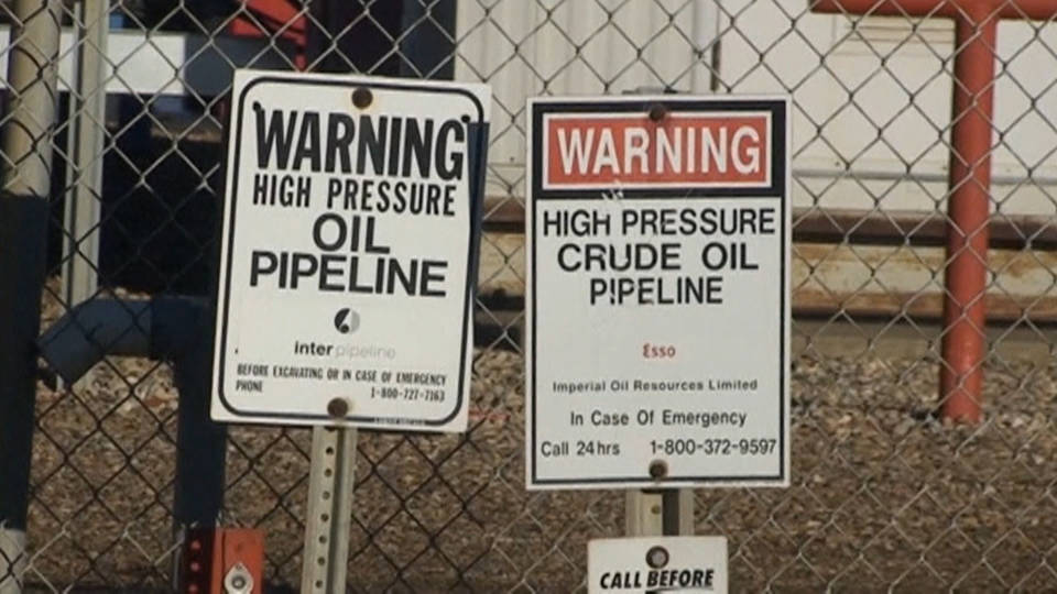 H16 transcanada pipeline protests