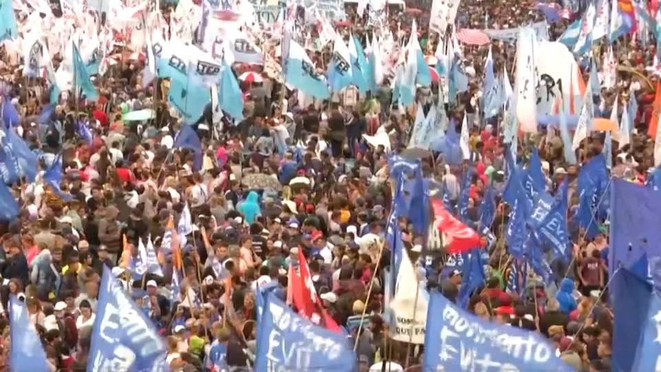 H12 argentina protest g20 summit