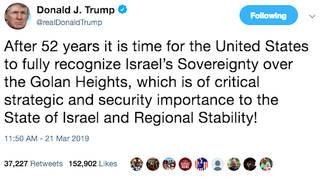 H1 trump tweet