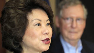 H10 house democrats investigating transportation secretary elaine chao ethics violation foremost group husband mitch mcconnell
