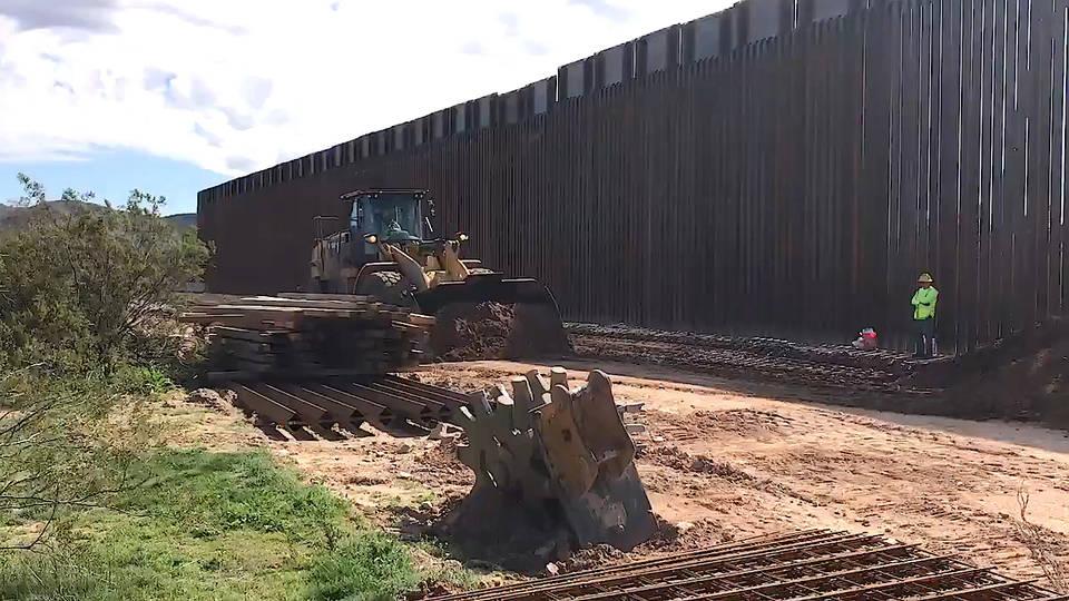 H13 arizona border wall sacred tohono oodham burial site destroyed