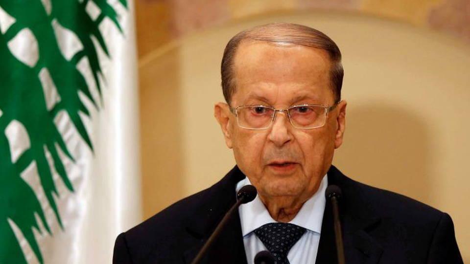 H12 michel aoun lebanon president