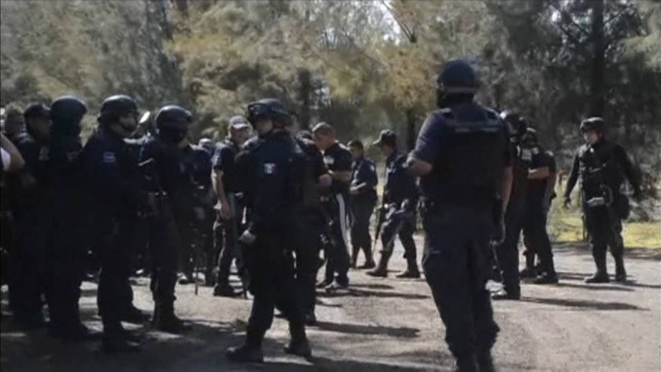 H12 mexican police