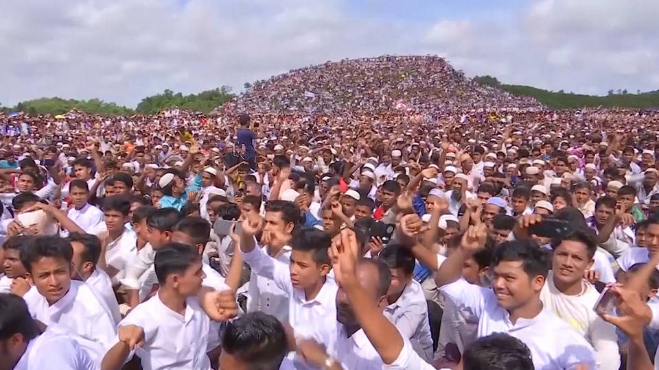 Rohingya rally to mark 'Genocide Day' in BD
