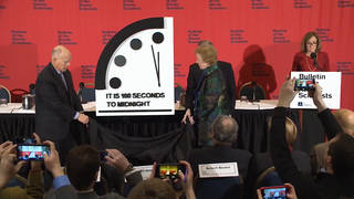 H12 doomsday clock now 100 seconds from midnight closest yet to catastrophe
