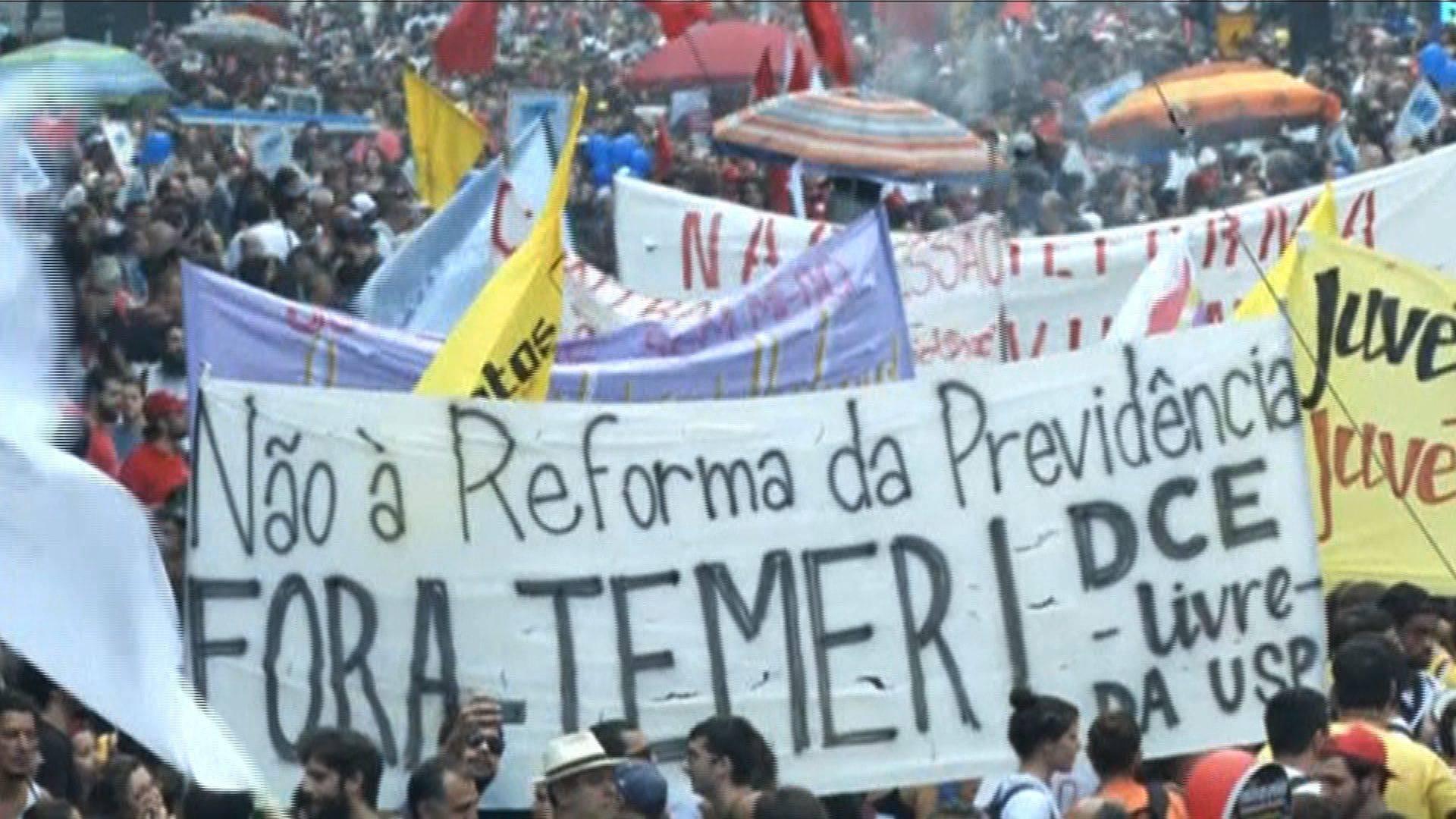Brazil: Workers Mount General Strike in São Paulo