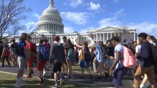 H5 student gun protest