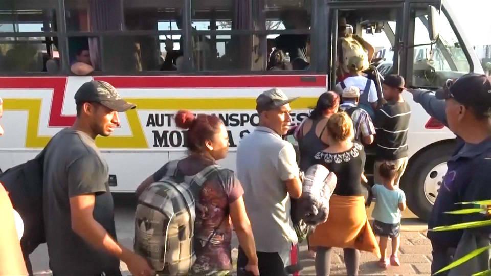 H3 mexico honduras caravan