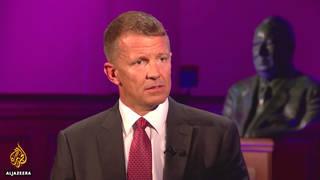 H11 erik prince al jazeera interview