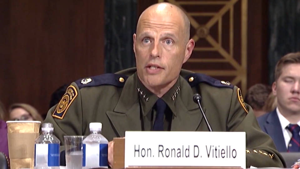 H4 ice acting director immigration customs enforcement ron vitiello