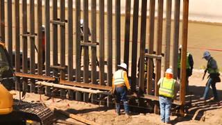 H5 trump border wall broke law border funding judge david briones pentagon funding
