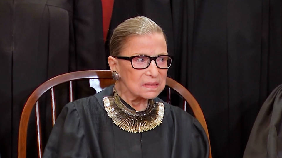H6 ruth bader ginsburg says shes cancer free supreme court justice