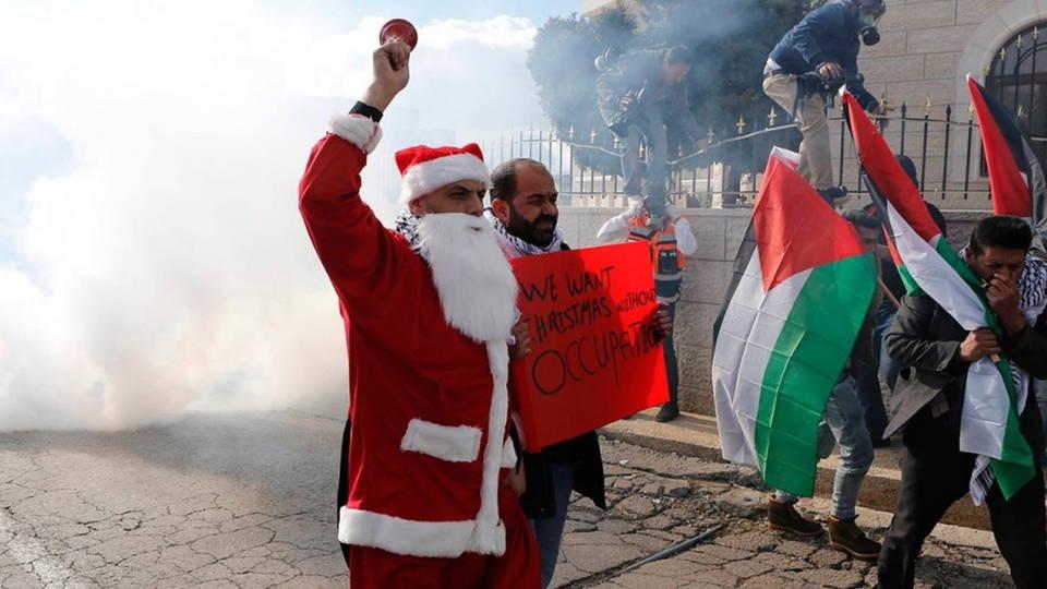 H02 bethlehem protest