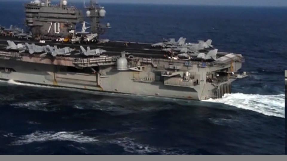 H02 ships off korean peninsula