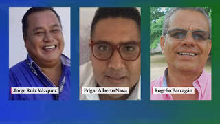 H8 3 mexican journalists killed in under week